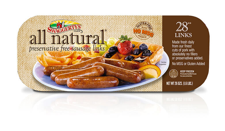 Breakfast Sausage by Swaggerty's Farm® | All Natural | Box, 24oz