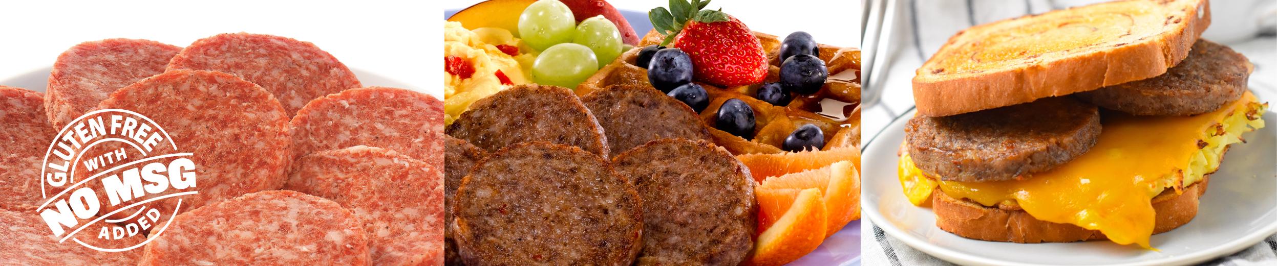 All Natural Premium Pork Sausage Patties
