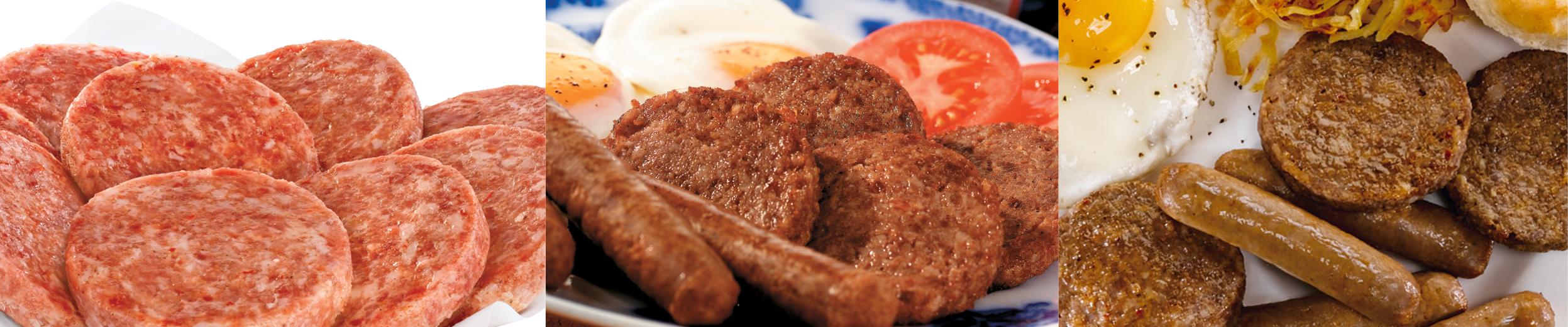 Country Style Premium Pork Sausage Patties & Links