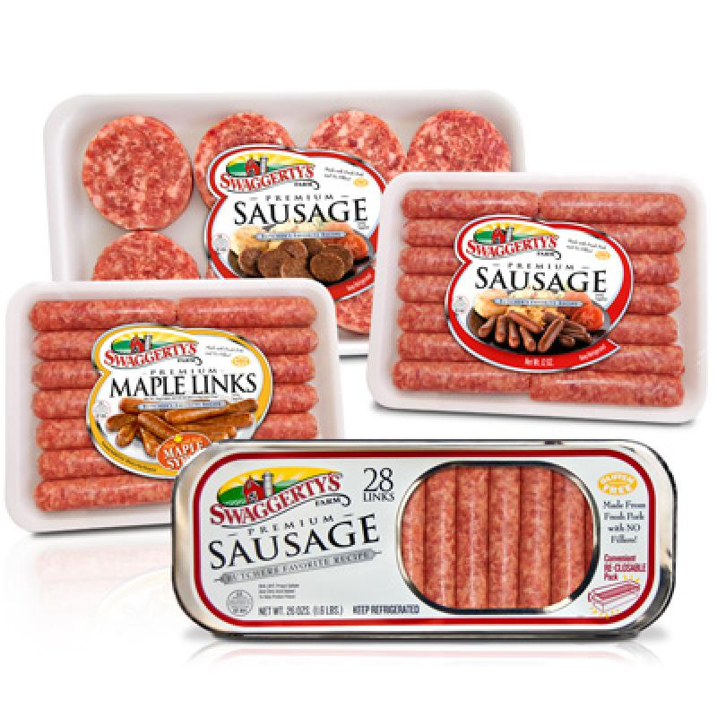 Premium Breakfast Sausage by Swaggerty's Farm