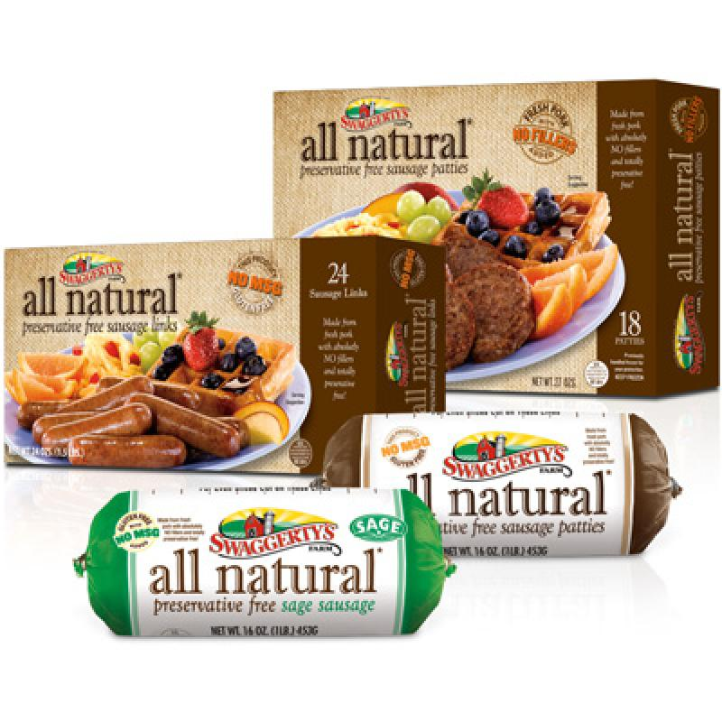 All Natural Breakfast Sausage by Swaggerty's Farm®