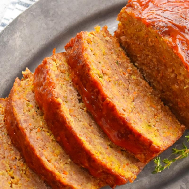 Sausage & Veggie Meatloaf Recipe by Swaggerty's Farm®