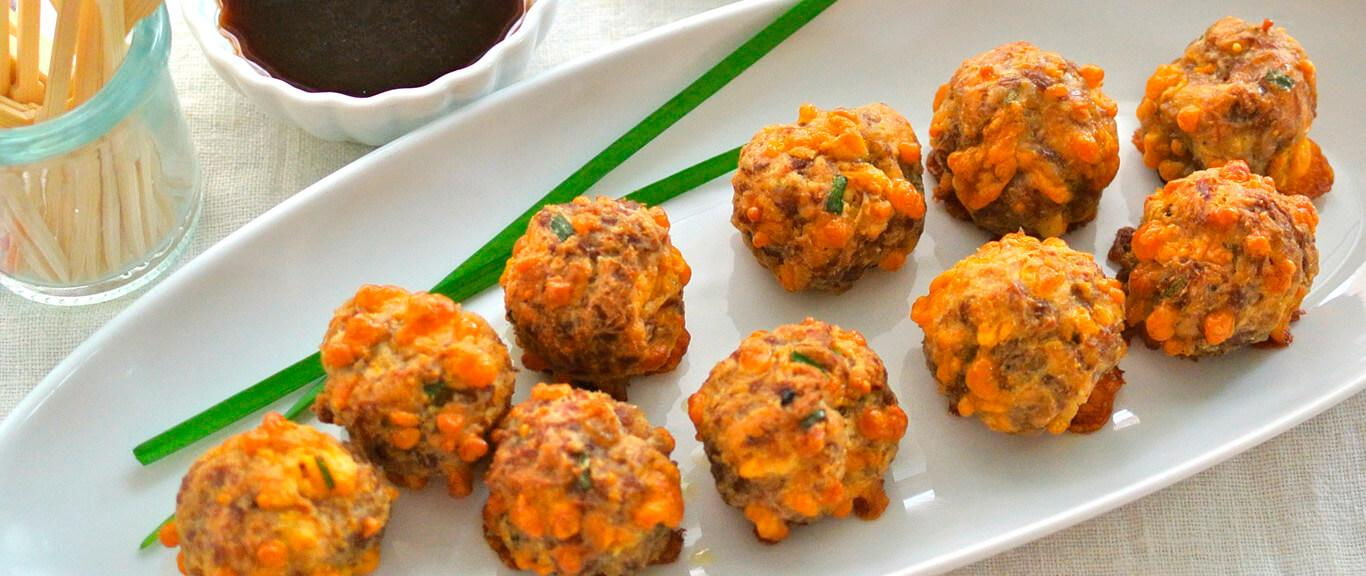 Gluten Free Sausage Balls Recipe by Swaggerty's Farm®