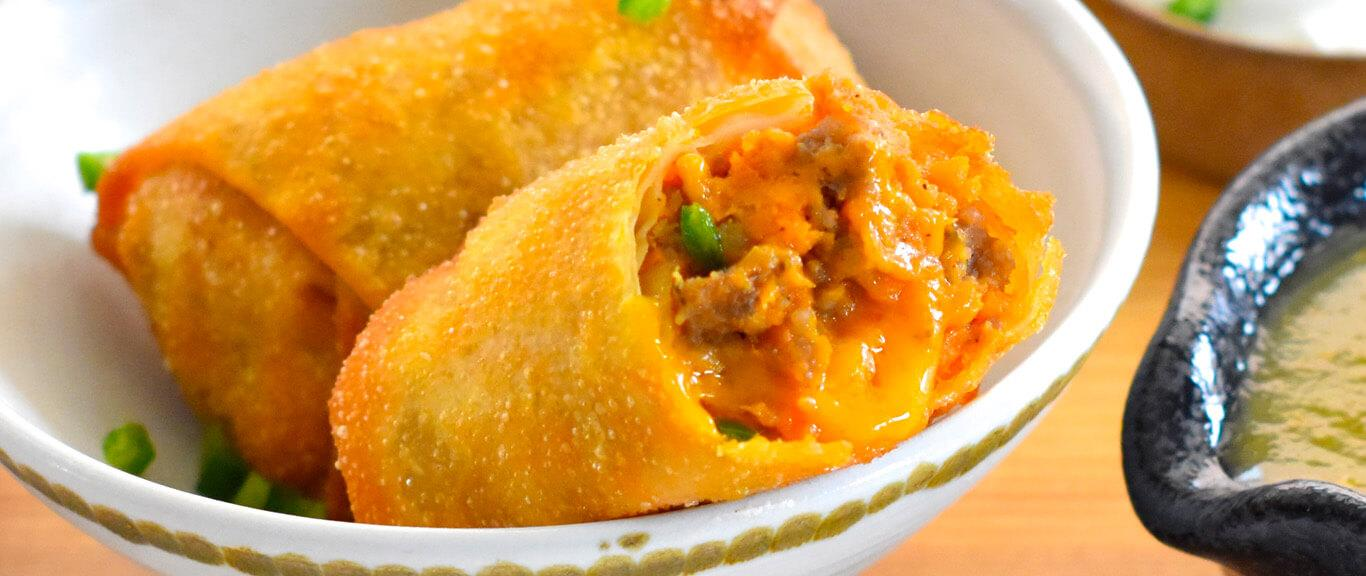 Southern Style Egg Rolls Recipe by Swaggerty's Farm