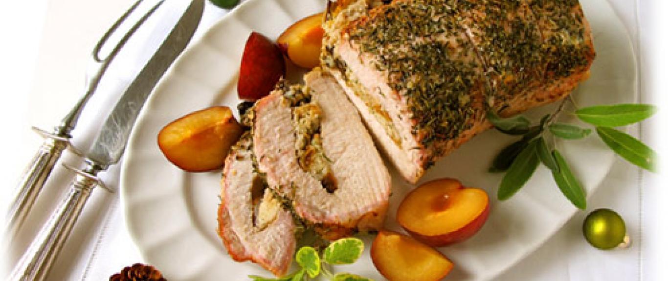 Holiday Stuffed Pork Loin Recipe Swaggerty S Farm