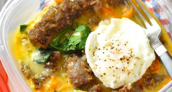Grab & Go Breakfast Bowls Recipe by Swaggerty's Farm®