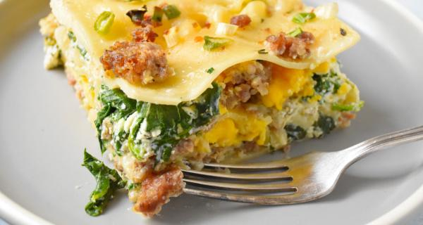 Breakfast Lasagna recipe by Swaggerty's Farm®