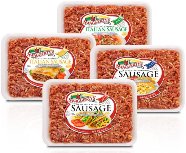 Fresh Ground Pork Sausage by Swaggerty's Farm