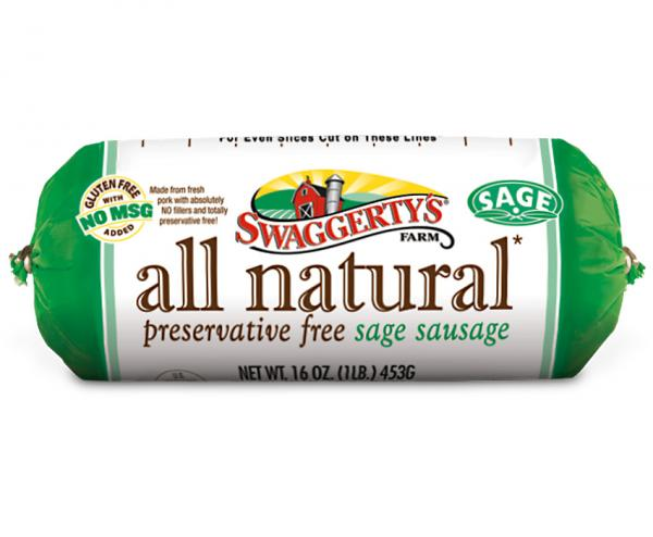 Swaggerty's Farm® Launches All Natural Sage Sausage Rolls!